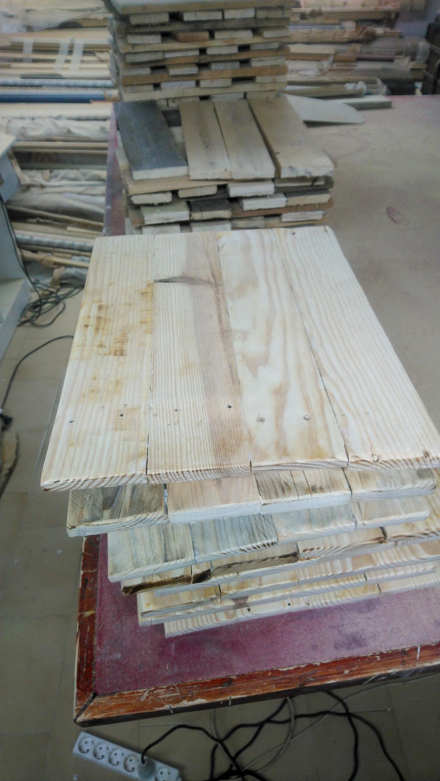 Nuestros materiales, la madera