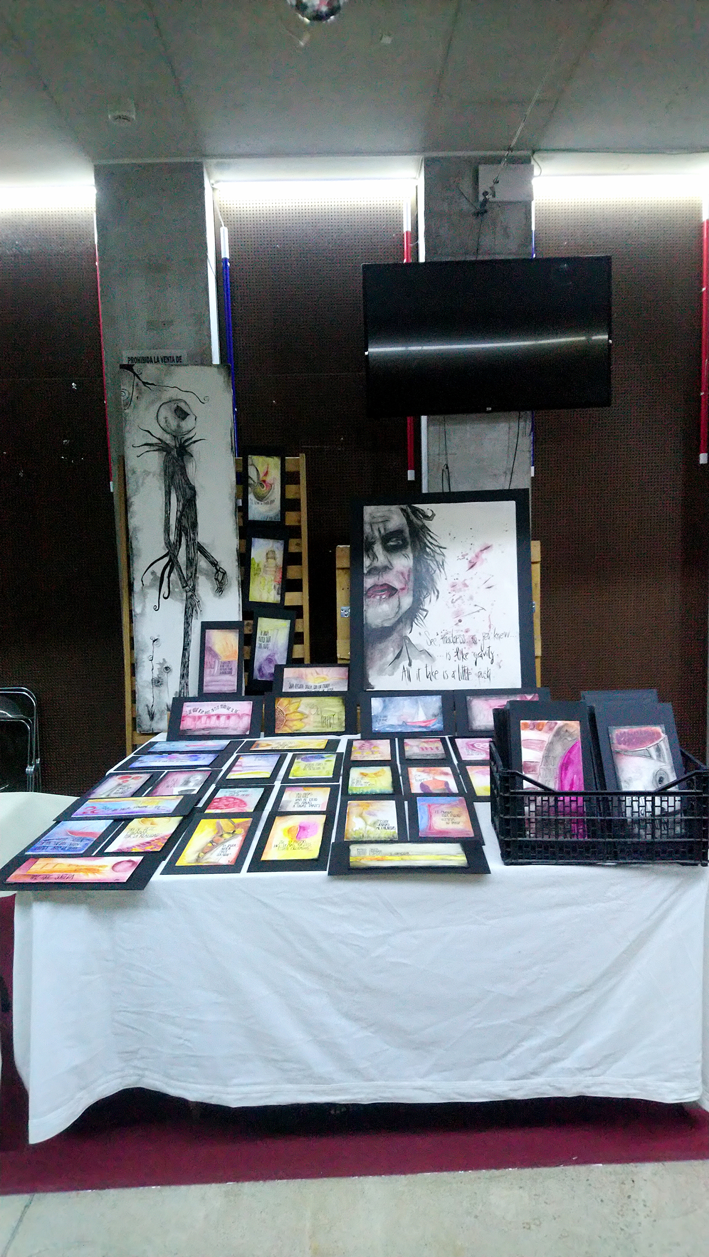 Exposición sala escenario