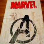 Logo de Marvel para habitación
