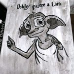 Cuadro de Dobby personalizado
